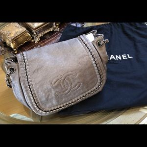 Authentic Chanel Timeless Accordion Flap Bag